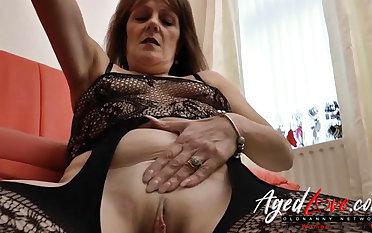AgedLovE Mature Blowjob plus Wet Pussy Ribbons