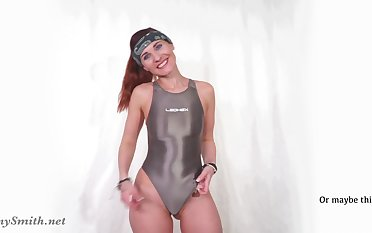 JENY SMITH Concerning SNEAKERS With an increment of SWIMMING SUIT
