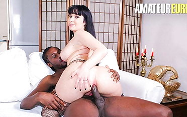 AmateurEuro - Big Tits Luna Oara Gets Anal BBC Onwards Dinner