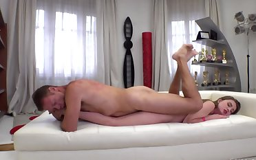 Rocco Siffredi teaches Lena Reif the sex controls showing new insincerity