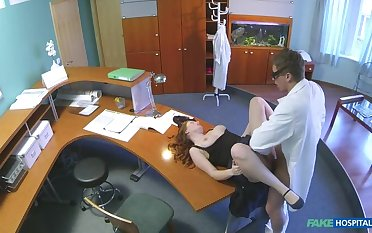 Adulterate Gives His New Receptionist A Full Body Fucking