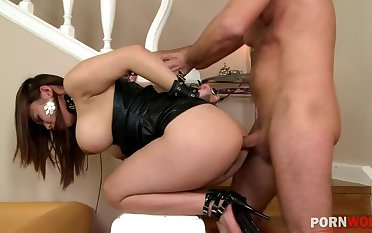 Tattooed & pock-marked Tigerr Benson surrenders to must-see BDSM domination GP972