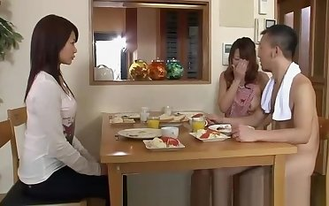 Japanese Hot Couples Plays Sex Games Nude At Home