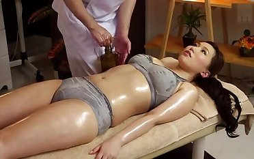 Gorgeous Japanese MILF Ai Sayama in kinky porn sheet in office