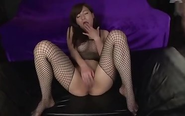 Attractive busty Japanese mom Kaho Kasumi having an extremist gangbang experiance