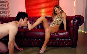 Foot mistress japanese