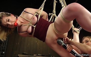 Submissive lesbian whore ass fucking had sex