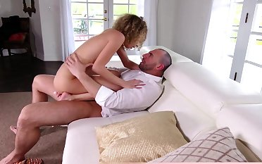 Extra cute added to tiny GF Allie gets fucked