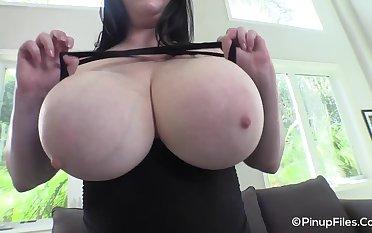 PinupFiles - Jenna Valentine Goth Halloween 2 2 - Big tits