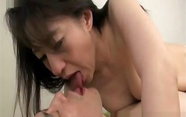 spit and tongue from mature