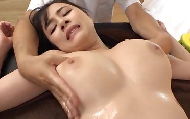 Massage leads to rough dicking with slutty Asian Yoshikawa Aimi