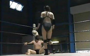 Japanese mixed wrestling domination