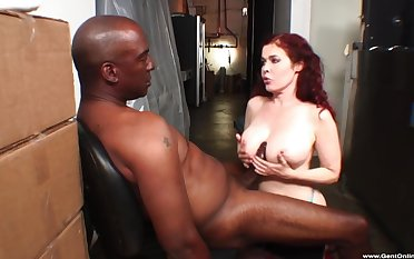 Hardcore Interracial dicking near cum on tits ending - Mae Victoria