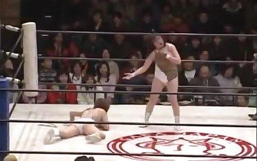 japanese wrestling stinkface to hand 1:56
