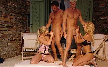 Sensational sex with Euro sluts