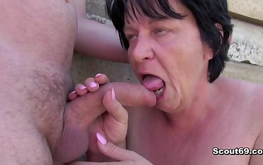 German old SUPERSIZED BIG BEAUTIFUL WOMAN Mother I´d Get a bang Upon Fuck get caught increased by fornicateed outdoor