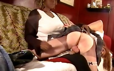 Spanking the sissy