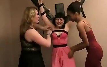 cute girl tickle tortured