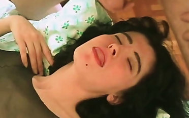 Wife waits for husband to unload huge facial